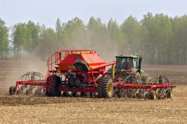 Яровой сев увеличен на 3,7 млн гектаров по сравнению с прошлым годом