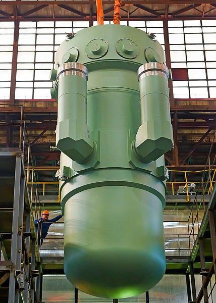 """Атомэнергомаш"" завершел сборку корпуса реактора для атомохода ""Арктика"""