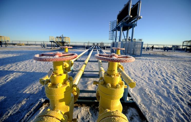 """""""Газпром"""" увеличил экспорт газа в Европу с начала года на 17,9%"""
