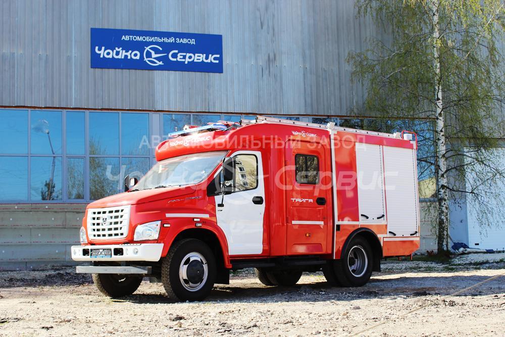 Автомобильный завод «Чайка-Сервис» выпустил пожарную автоцистерну на базе ГАЗон NEXT