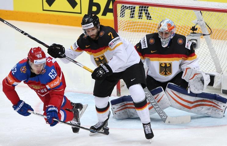 хоккей Россия -Германия