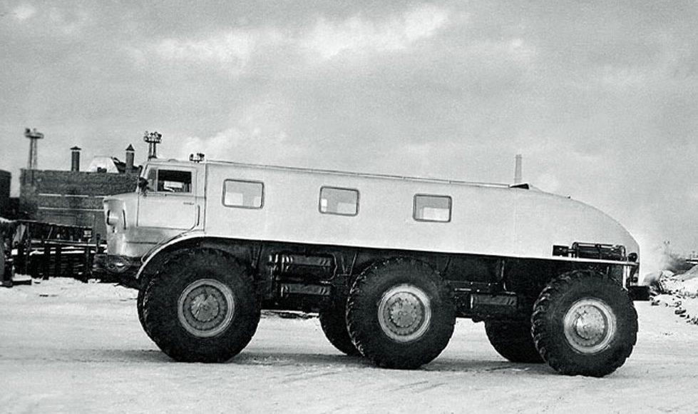 Колёсные монстры СССР, или 6 советских чудо-машин