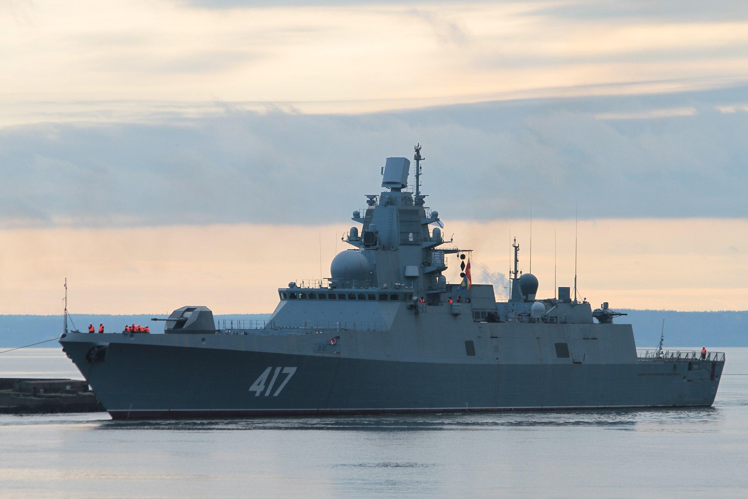 Главный ударный комплекс установлен на фрегат «Адмирал флота Касатонов»