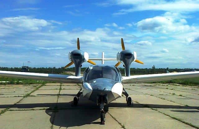 Лётные испытания нового самолёта-амфибии АСК-62 начались в Самаре