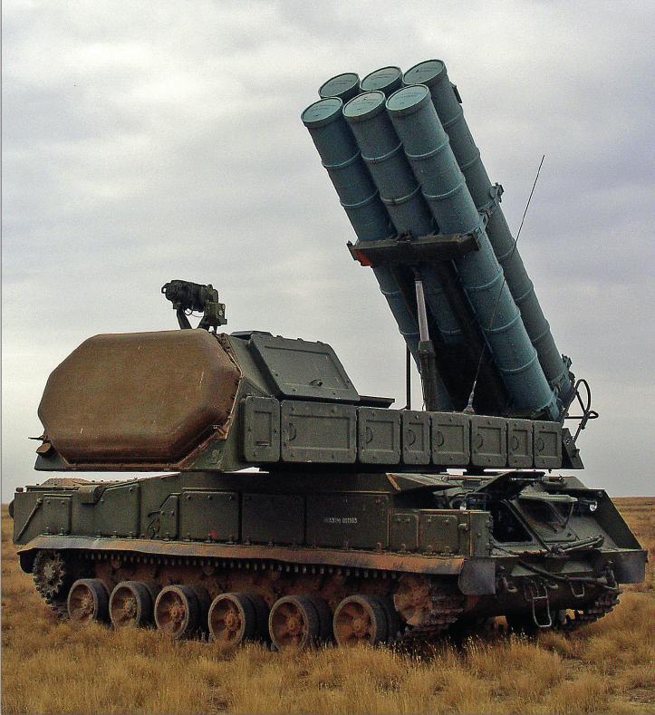 """""""Алмаз-Антей"""" успешно провел испытания нового зенитного комплекса средней дальности """"Бук-М3"""""""