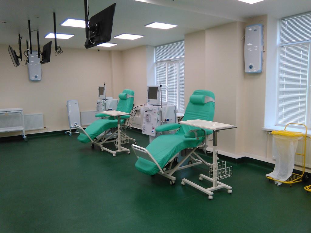 Новый центр гемодиализа отрыли в Архангельской области