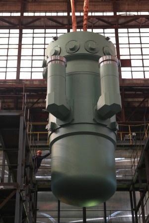 «Атомэнергомаш» отгрузил второй реактор РИТМ-200 для головного атомного ледокола проекта 22220 «Арктика»