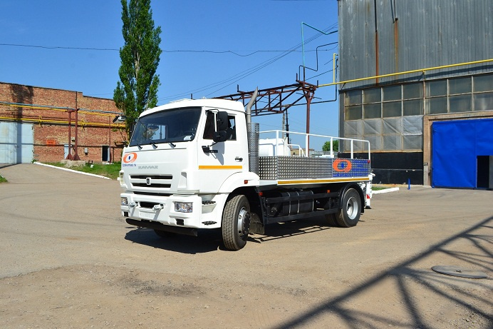 Туймазинский завод автобетоновозов представил новый линейный бетононасос «CityPump» на шасси KAMAZ