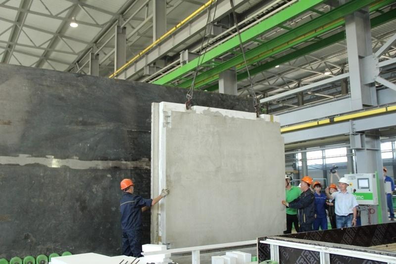 Завод по производству железобетонных изделий отрыт в Чувашии