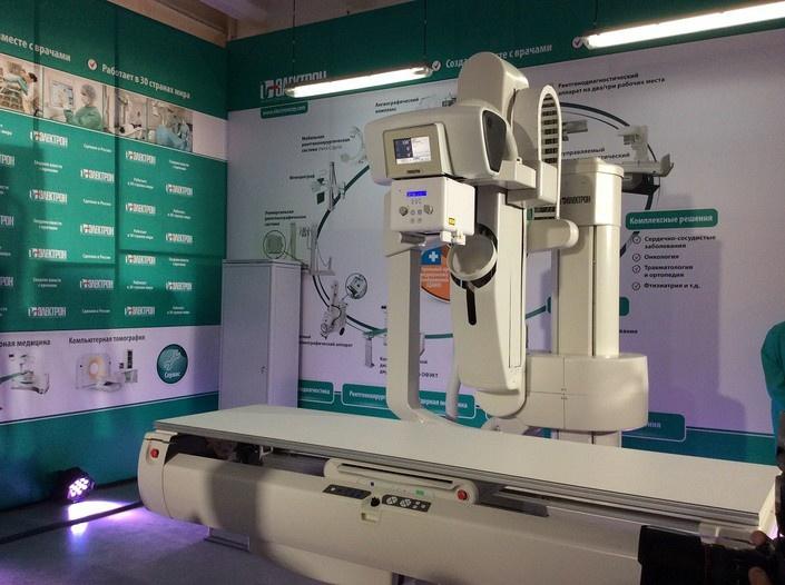 «Электрон» запустил в серийное производство инновационный рентгенодиагностический комплекс