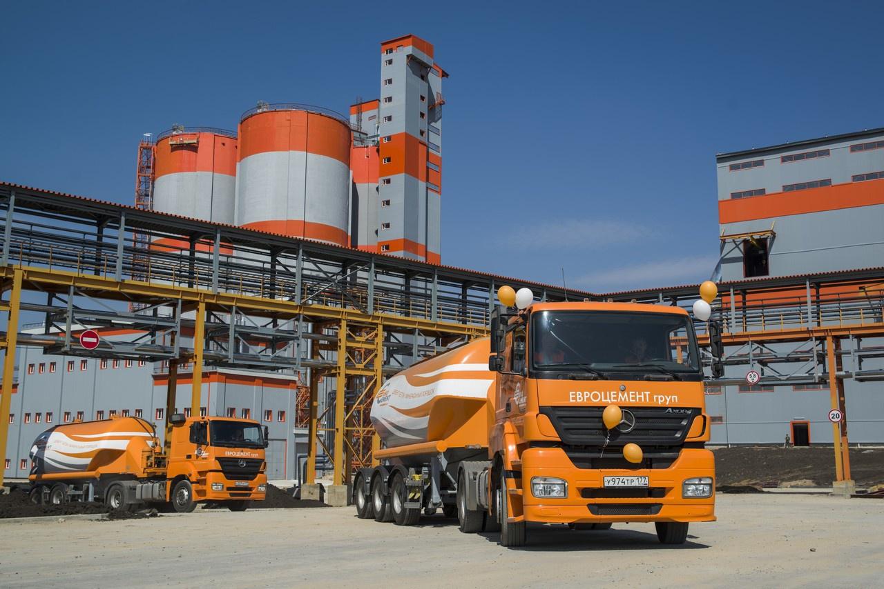Холдинг «Евроцемент» начал осуществлять поставки цемента в страны Балтии и Финляндию