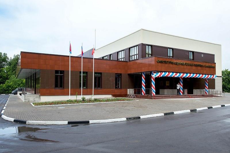 Новый физкультурно-оздоровительный комплекс открыли в Подольске Московской области
