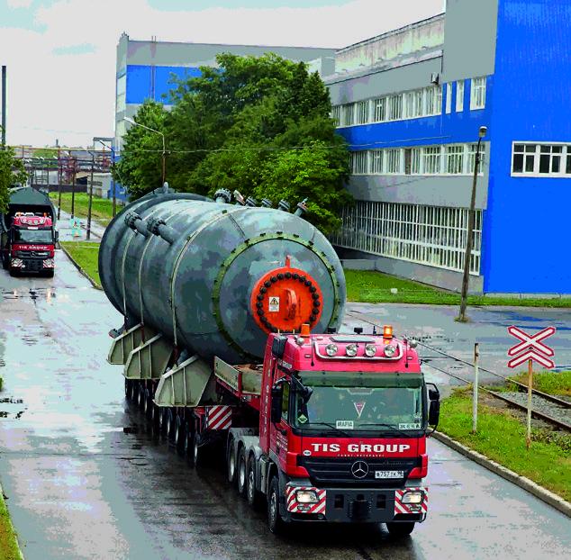 Ижорские заводы отгрузили оборудование для Московского НПЗ
