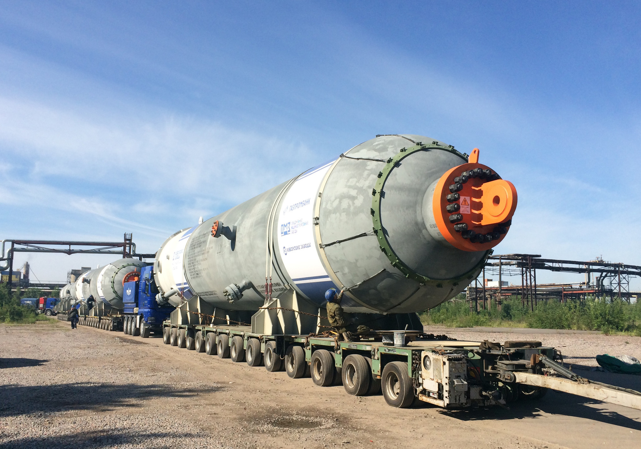 Ижорский завод поставил нефтеперерабатывающее оборудование для Омского НПЗ