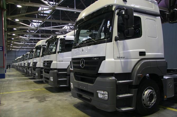 КАМАЗ и Daimler инвестируют в совместный завод в Татарстане 400 млн евро