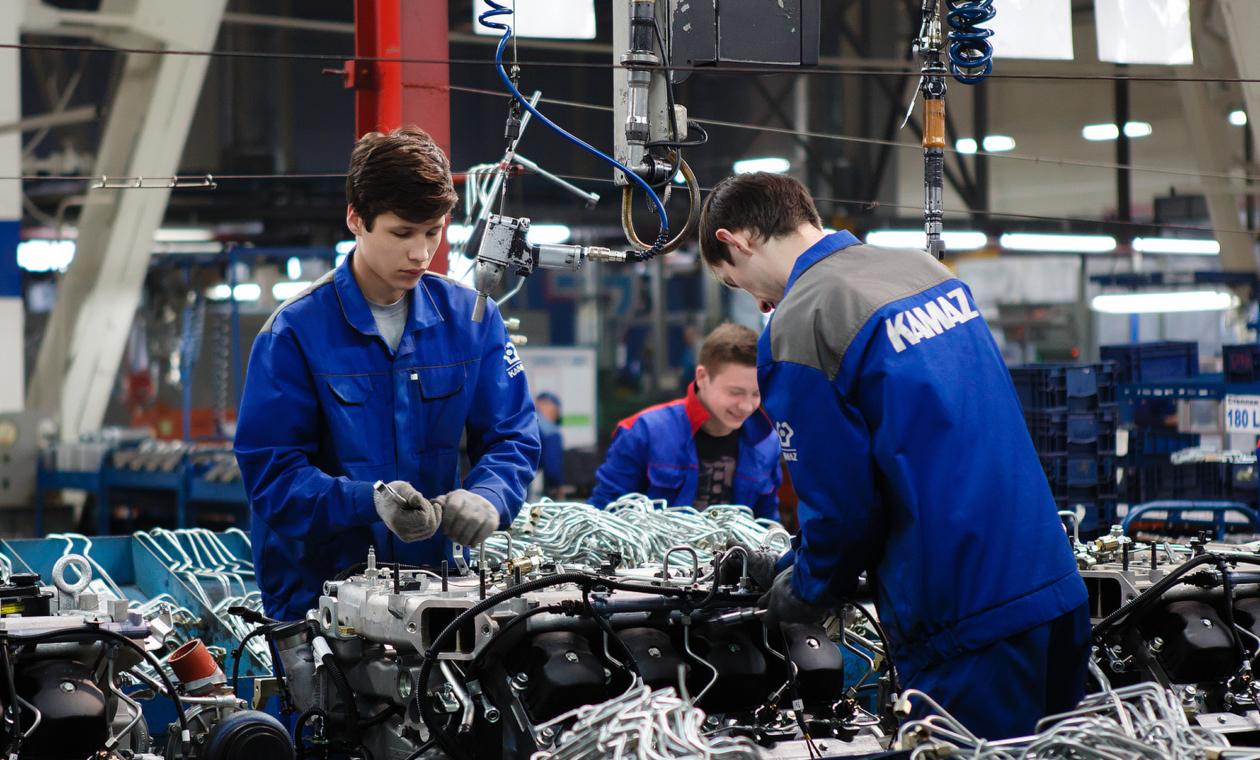 КАМАЗ начал производить для «Фольксваген Груп Рус» детали для двигателей
