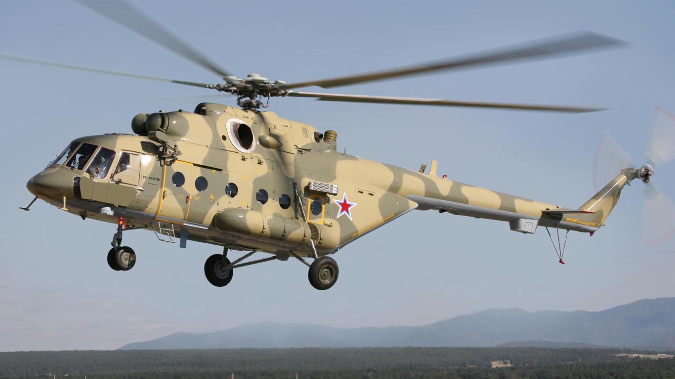 Холдинг «Вертолеты России» поставил в течении недели 8 вертолетов в Алжир, Ирак и Сербию