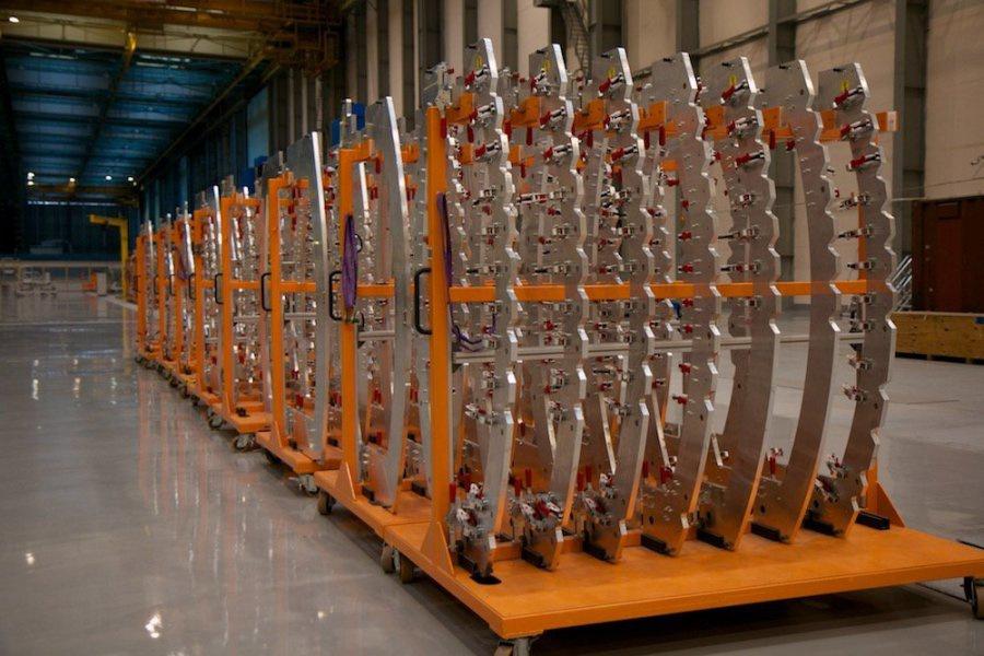 На «Авиастар-СП» открыта новая линия сборки агрегатов для лайнера МС-212