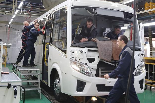 Производство автобусов нового поколения «Вектор Next» началось на Павловском автобусном заводе