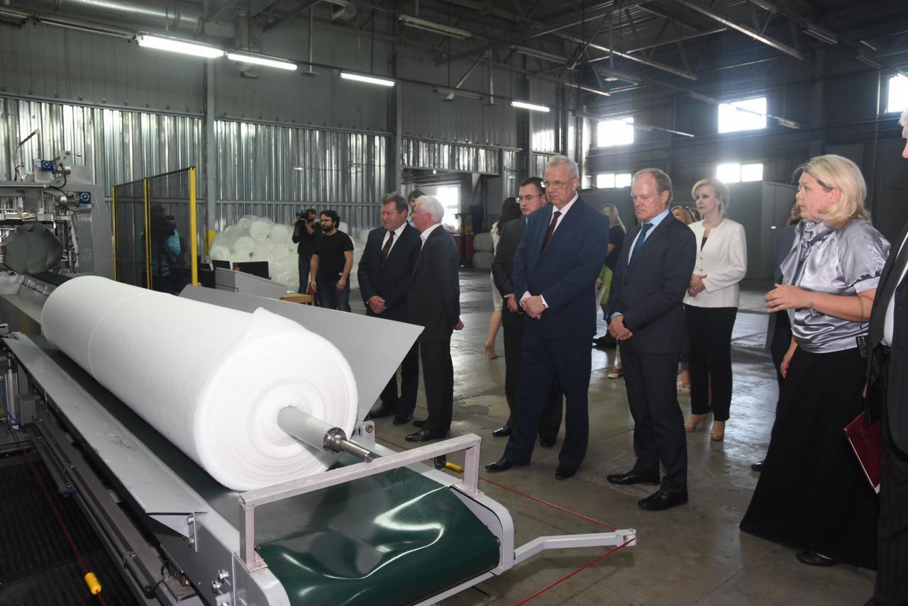 Производство высокотехнологичного утеплителя началось на фабрике в Курской области