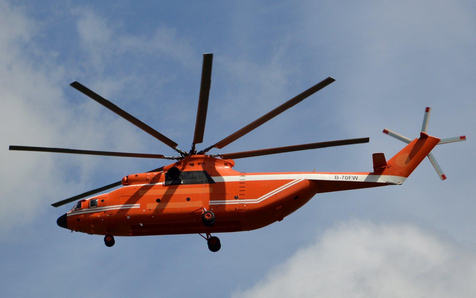 Ми-26ТС поставлен в Китай