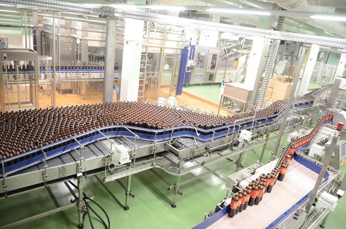 12 июня в г. Кирове на ОАО по производству пива и безалкогольных напитков «Вятич» был открыт новый цех по производству кваса.