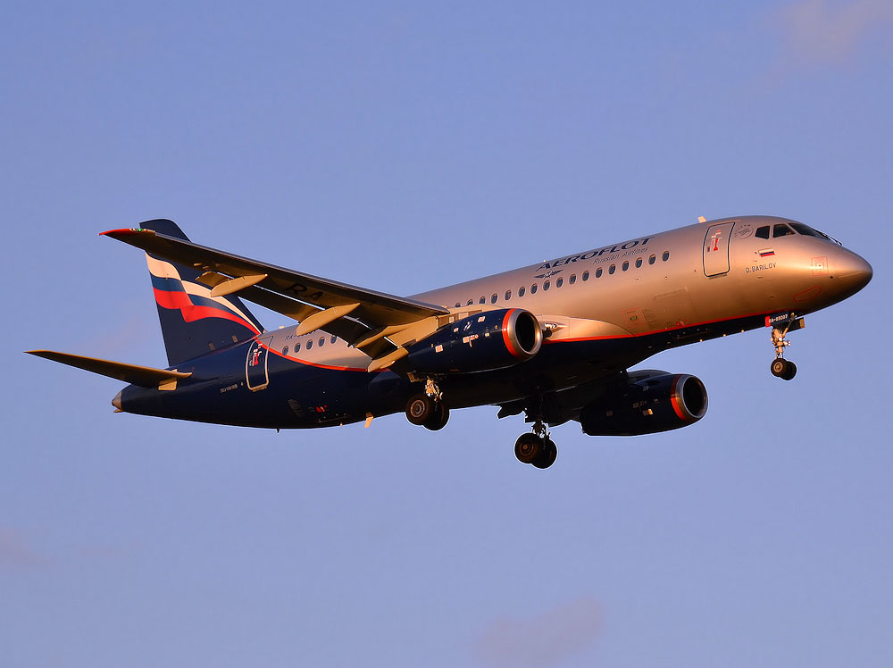 Авиакомпании «Аэрофлот» получила 28-й Сухой Суперджет 100