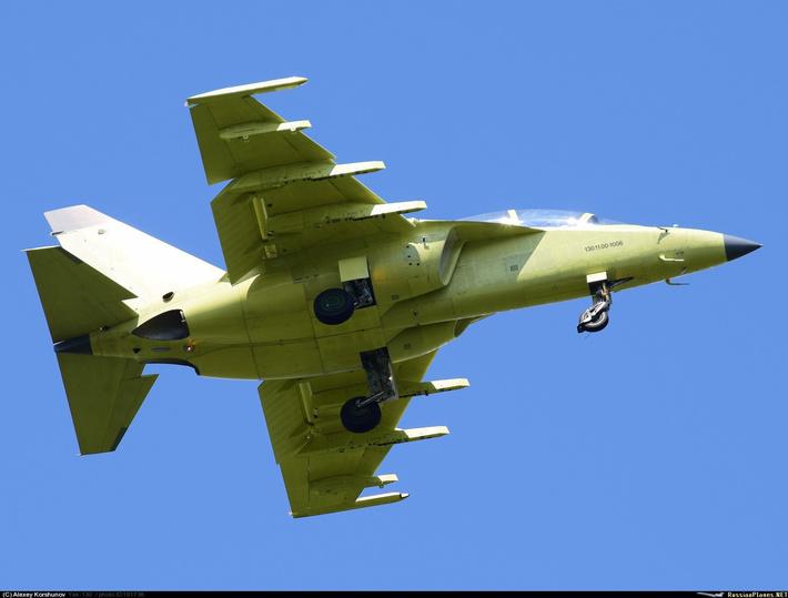 Очередной новый Як-130 совершил первый полет