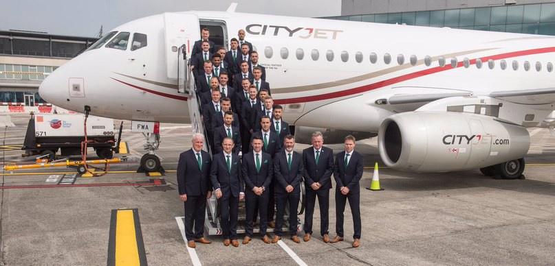 Первый Суперджет 100 ирландской авиакомпании CityJet введен в эксплуатацию