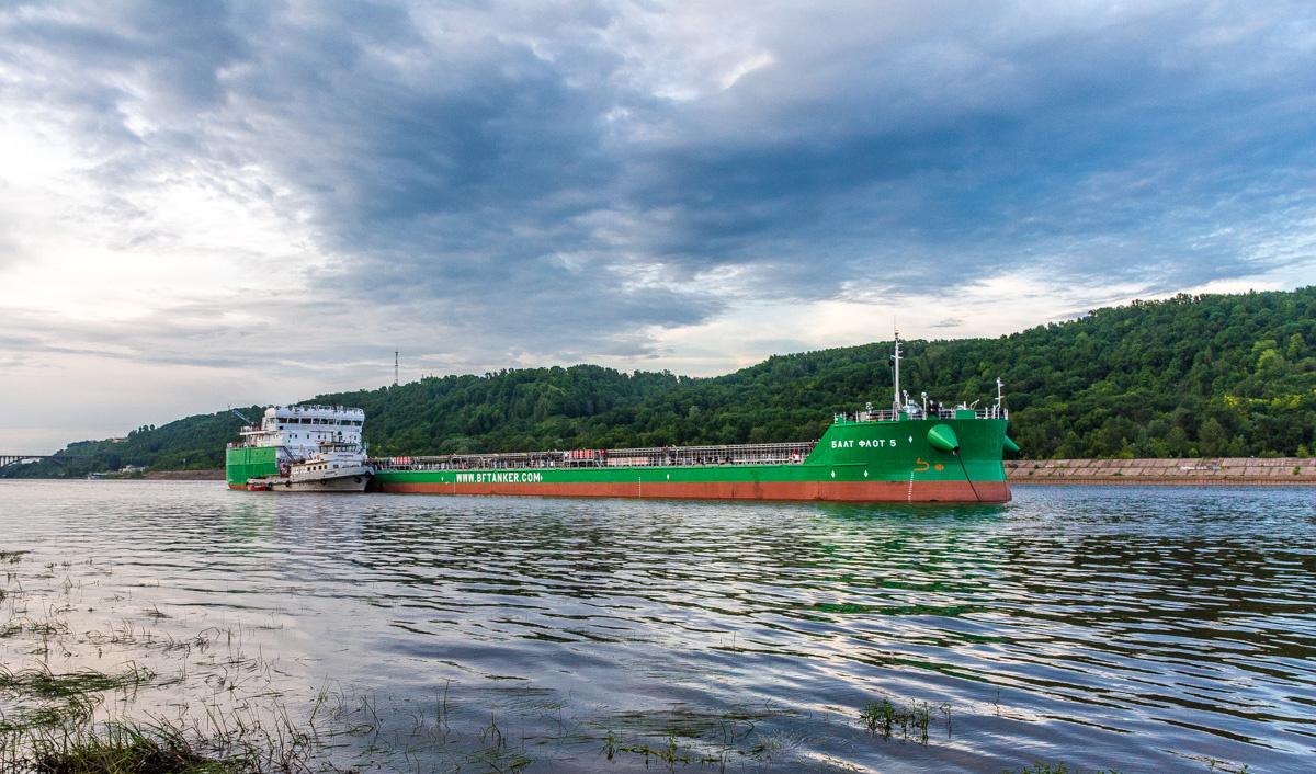 Парк судоходной компании «БФ Танкер» пополнился новым отечественным танкером «Балт-Флот 5»