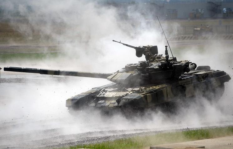 Россия завершила поставки танков Т-90С в Азербайджан