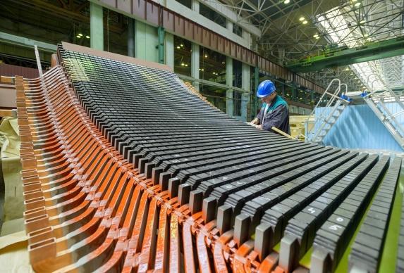 «Силовые машины» отгрузили первый гидрогенератор для Воткинской ГЭС