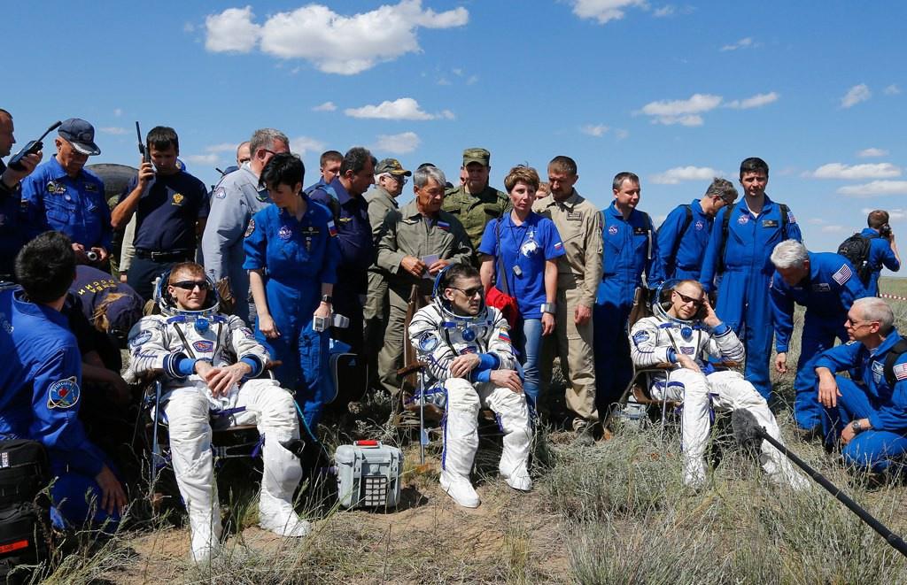 На Землю успешно вернулся Союз ТМА-19М