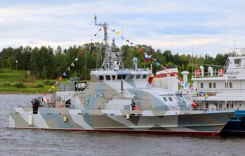 Судостроительные заводы России спустили на воду 4 корабля за прошедшую неделю