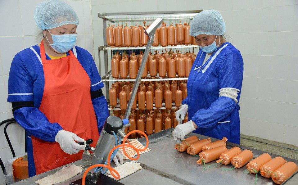 В Туве появился новый крупный мясокомбинат, выпускающий 27 видов продукции