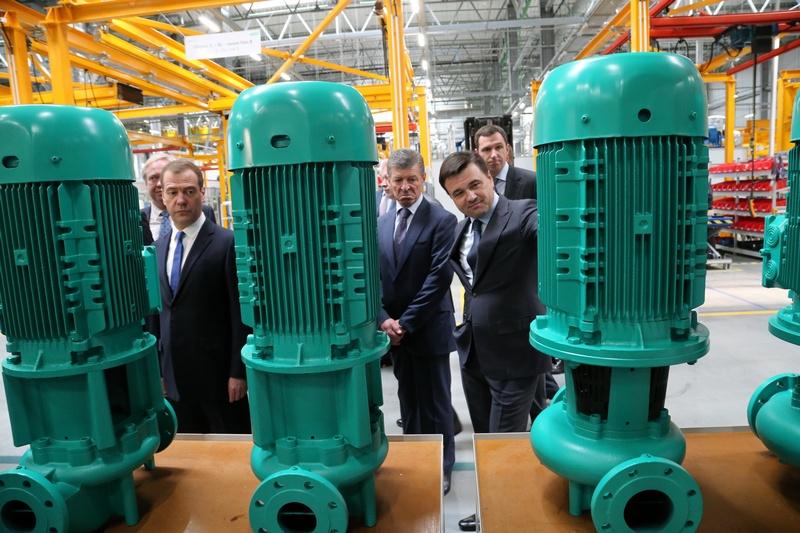 В Московской области открылся завод по производству энергосберегающих насосов компании WILO