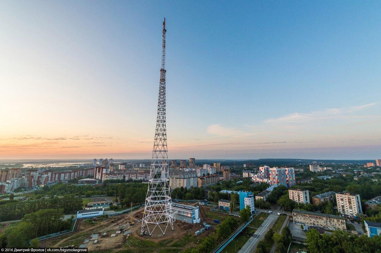 В Перми закончили строительство третьей по высоте телебашни России
