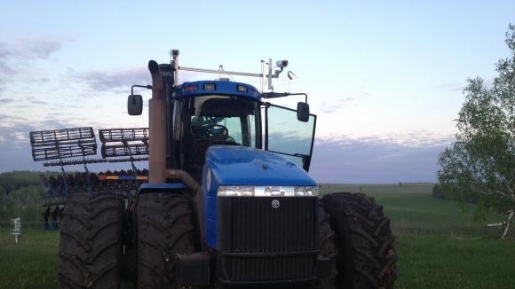 В Татарстане тестируют беспилотный трактор