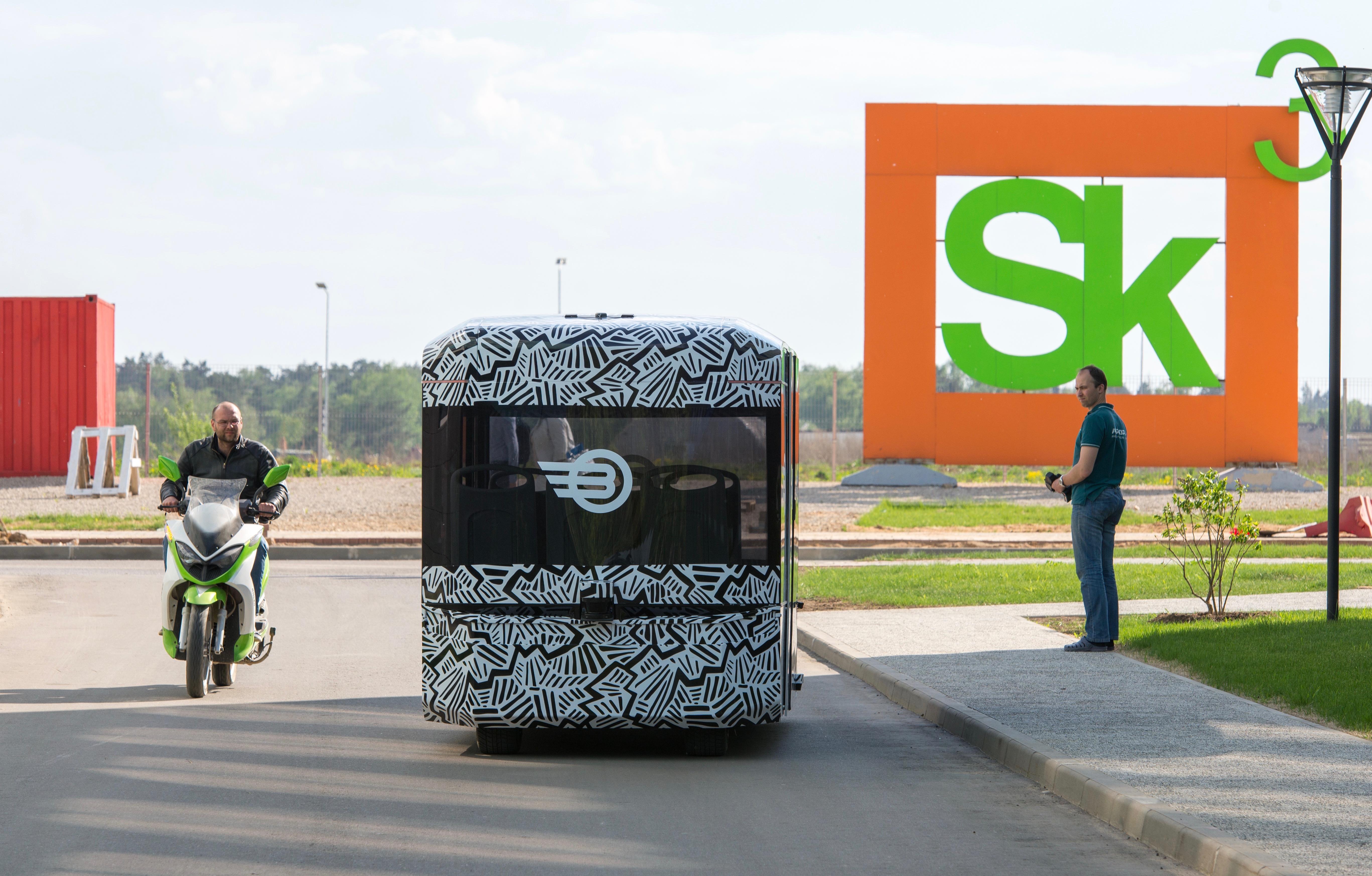 В Сколково начнут испытывать беспилотный городской транспорт