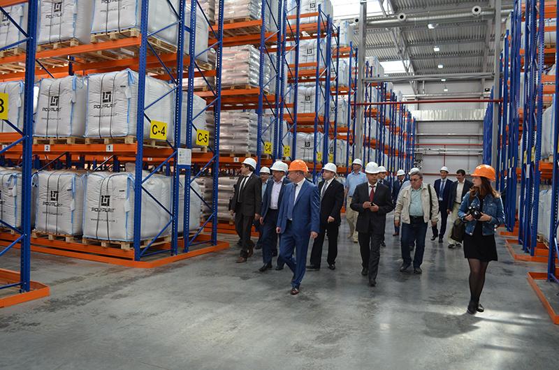 В Тульской области открыт сушильно-складский комплекс на «Полипласт Новомосковск»
