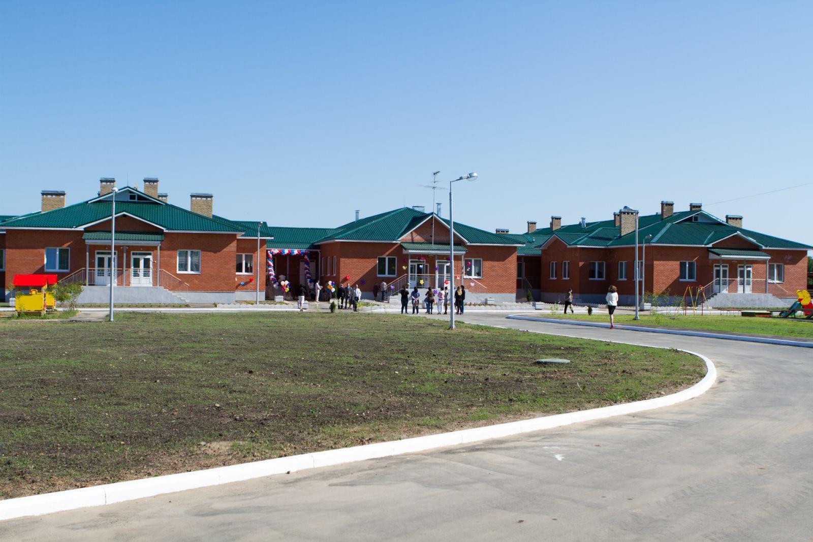 Новый сельский детский сад на 140 мест открылся в Ярославской области
