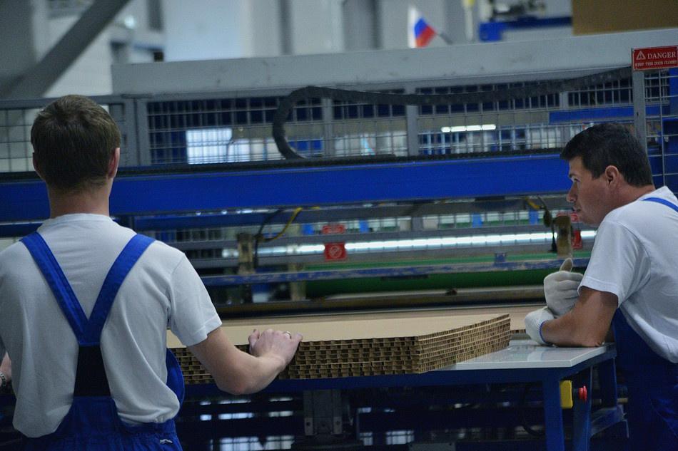В индустриальном парке «Калуга-Юг» состоялось открытие нового завода по производству сотовых панелей