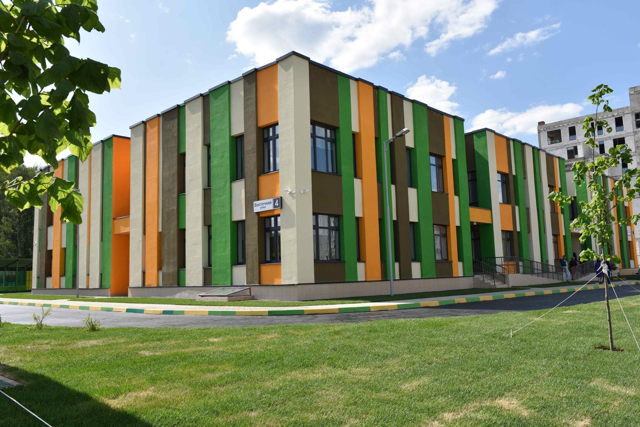 В подмосковных Химках открылся новый детский сад