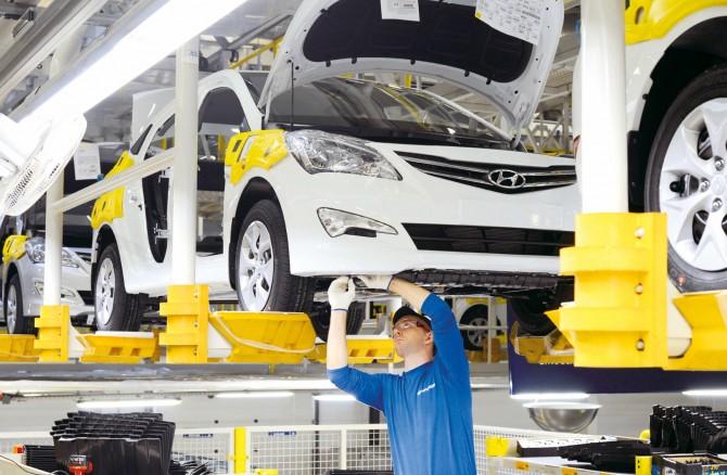 Заводы Санкт-Петербурга выпустили 102900 автомобилей за январь-май