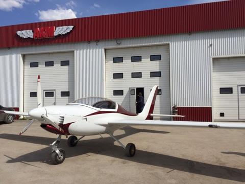 Первый полет совершил новый легкий российский самолет АКМ-5