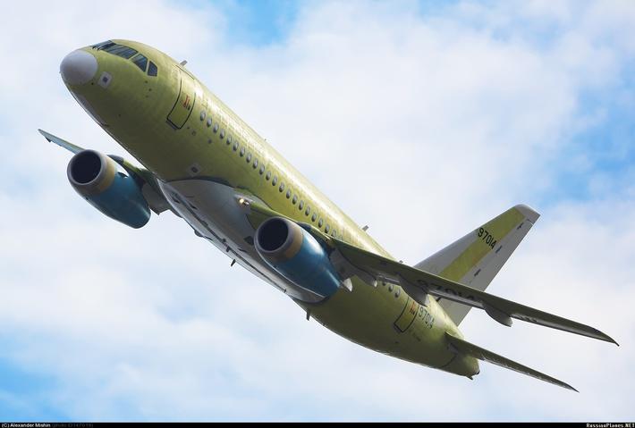 107-ой серийный борт Sukhoi Superjet 100 совершил первый полёт в Комсомольске-на-Амуре