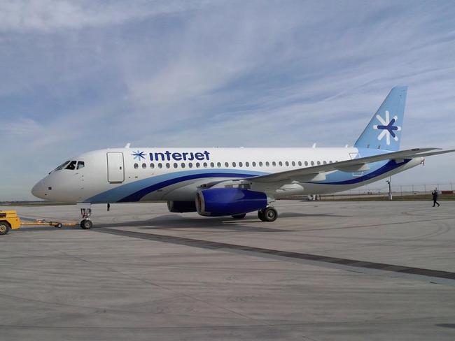 22-oй Sukhoi Superjet 100 получила мексиканская авиакомпания Interjet
