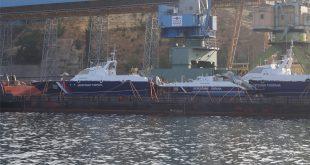 3 новых пограничных катера получил Крым