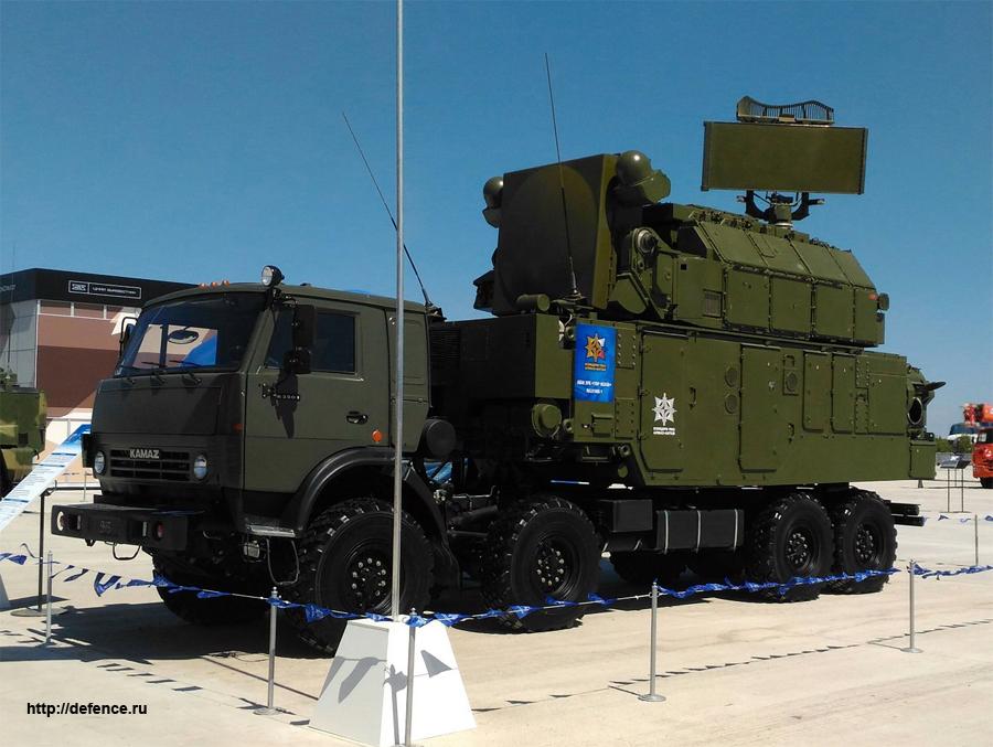 «Алмаз-Антей» впервые показал в Астане новую версию зенитного ракетного комплекса «Тор-М2КМ»