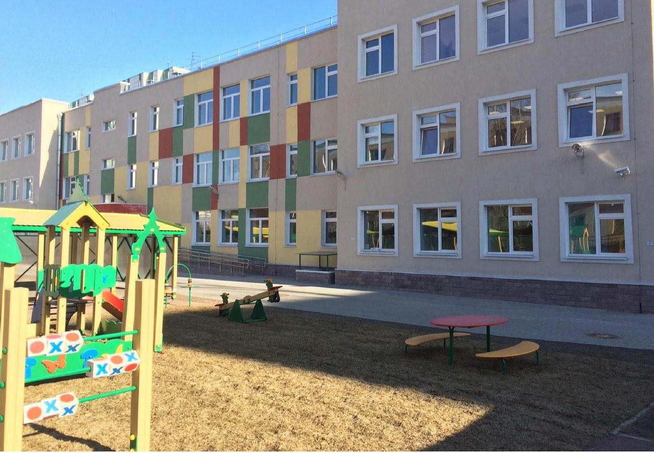 Детский сад на 200 мест открыт в Санкт-Петербурге